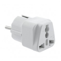 Universal Travel Power Adapter (EU to US / AU / UK plugs)