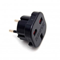 Travel Power Adapter (EU to UK plugs)